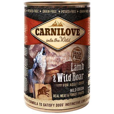 boites-chien-carnilove-adult-lamb-wild-boar